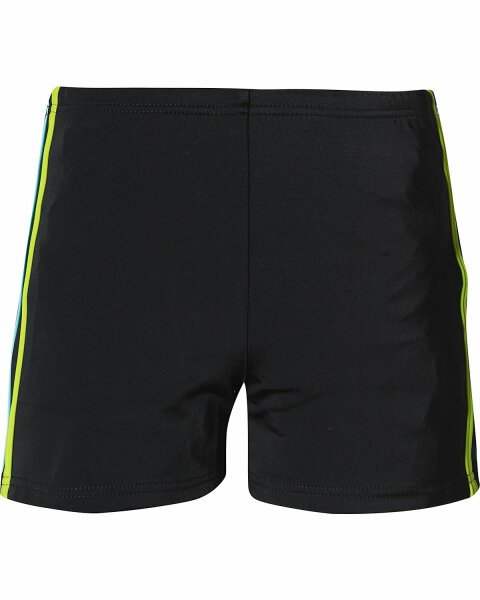 schwarz /  Streifen grün